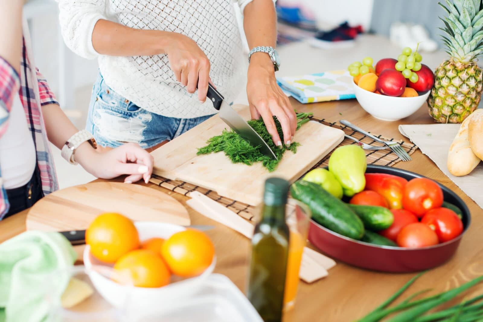 gotowanie krojenie
