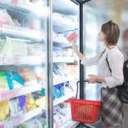 żywność mrożona zakupy