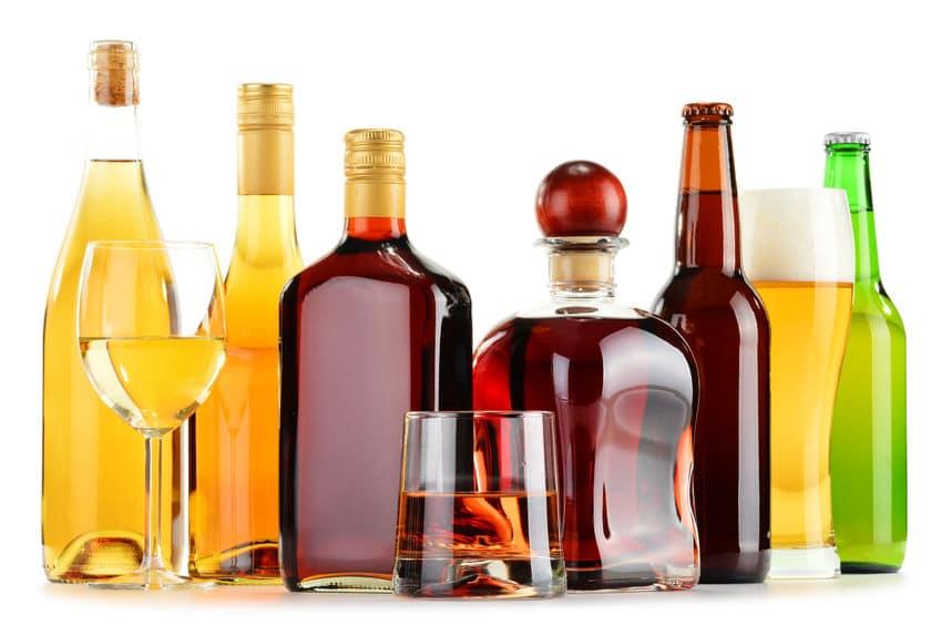 alkohole drożdże