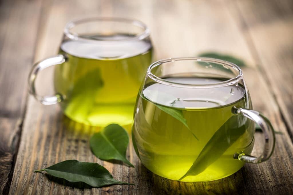 zielona herbata polifenole