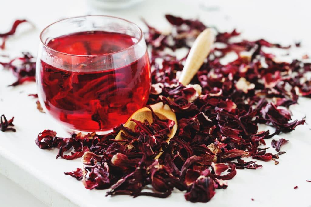 herbata z hibiskusem