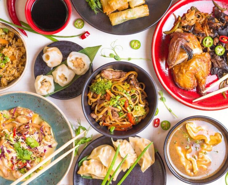 syndrom chińskiej restauracji danie azjatyckie