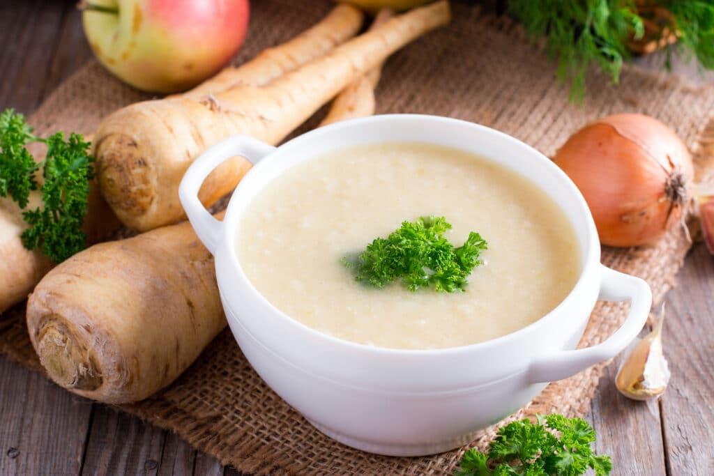 pasternak zupa krem