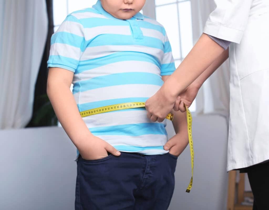 otylość dziecko