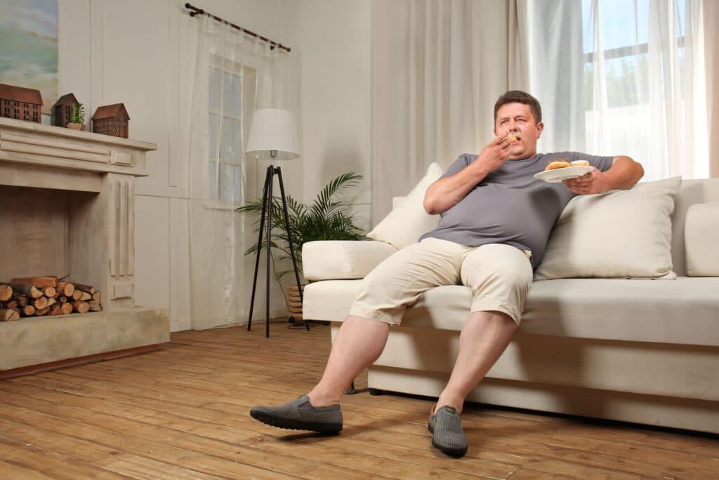otyłość lenistwo