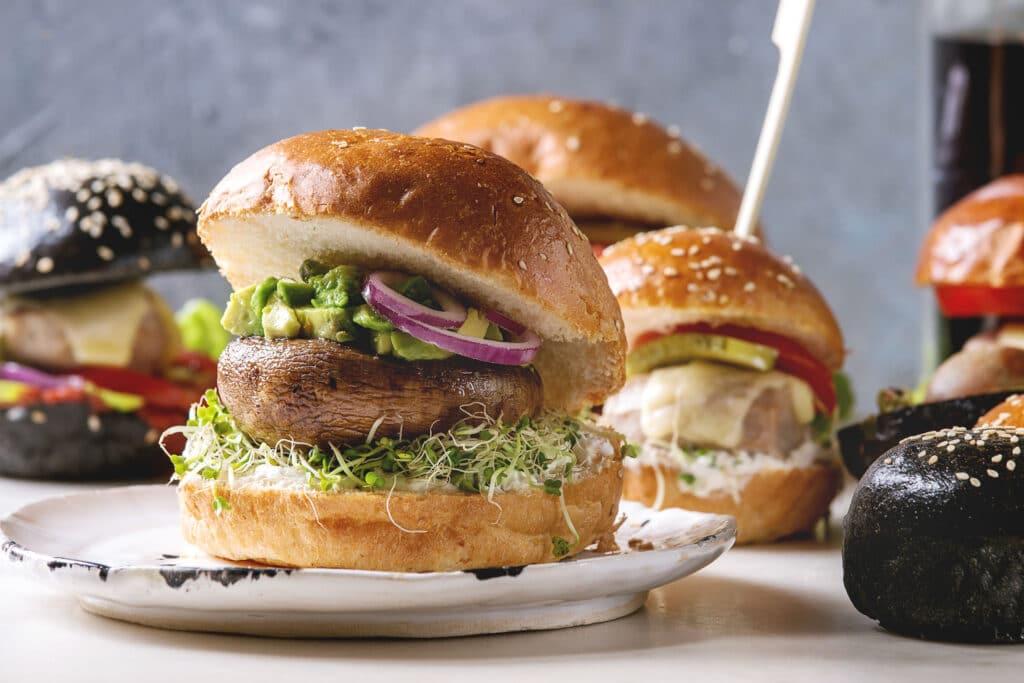burgery pieczarki portobello
