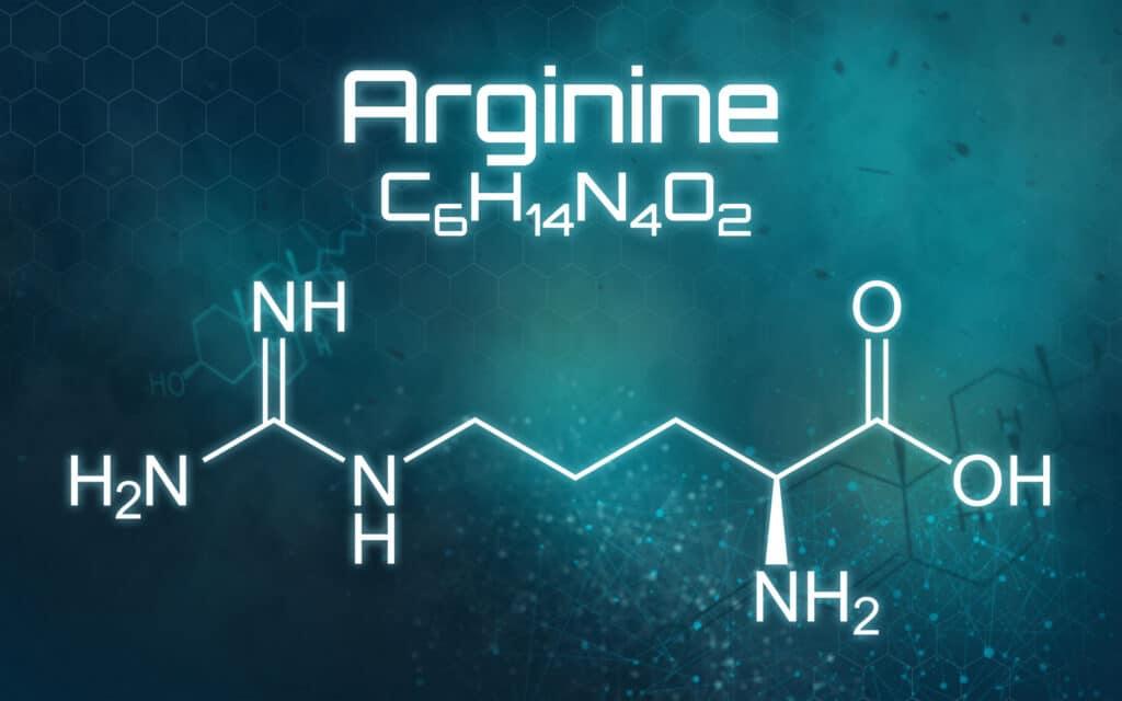 arginina wzór chemiczny