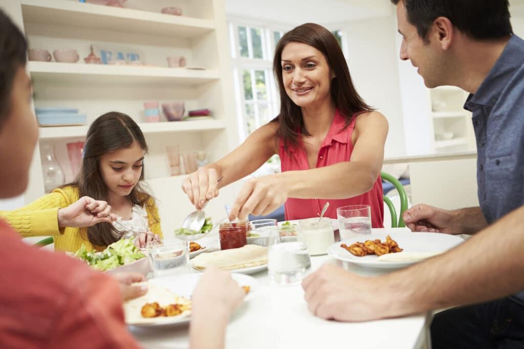 obiad przerwy między posiłkami