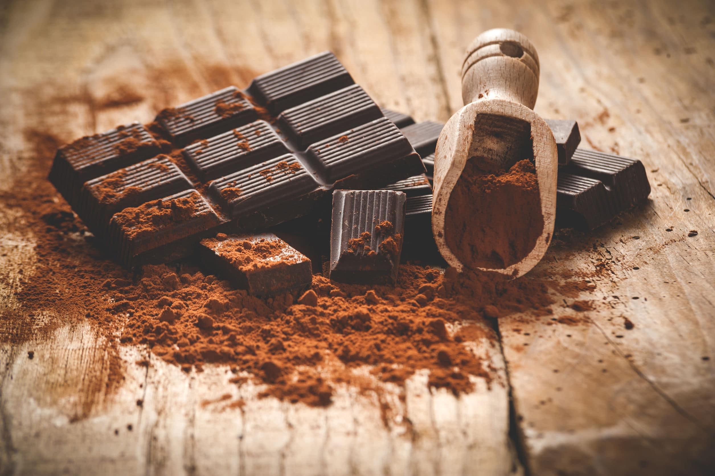 czekolada dieta trądzik