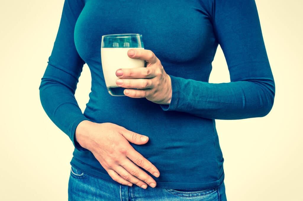nietolerancja laktozy. mleko
