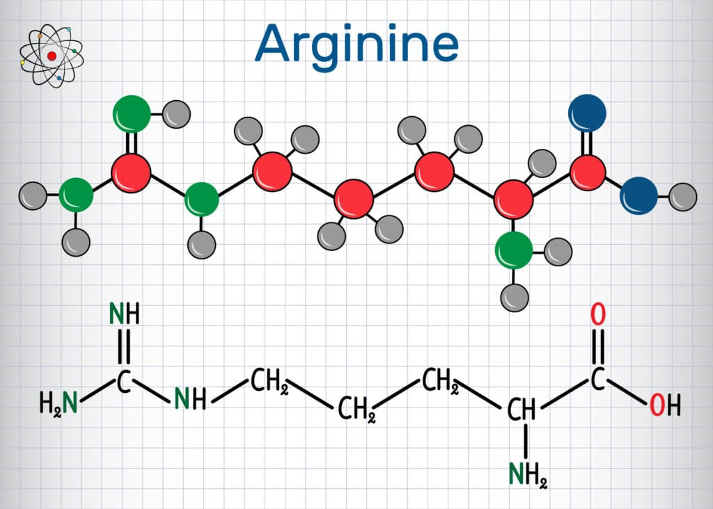 arginina chemia
