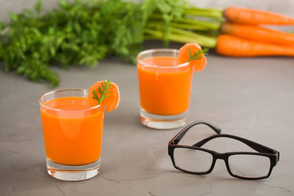marchewka - witaminy dla oczu