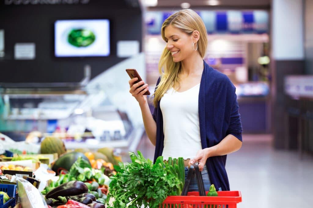 kupowanie owoców i warzyw