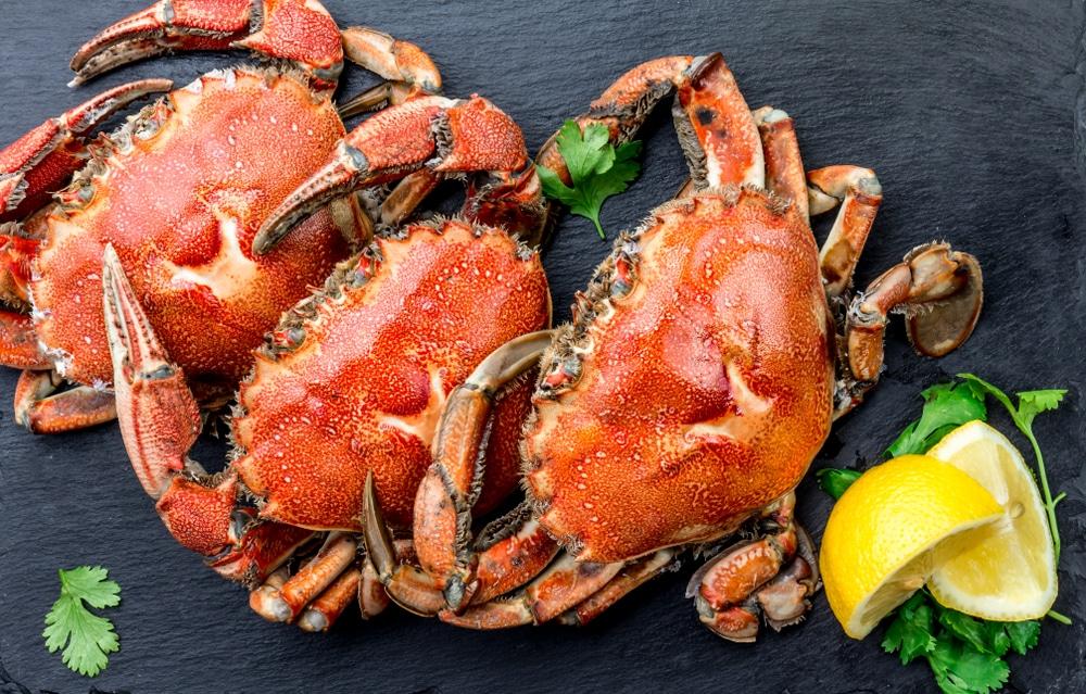 kraby owoce morza