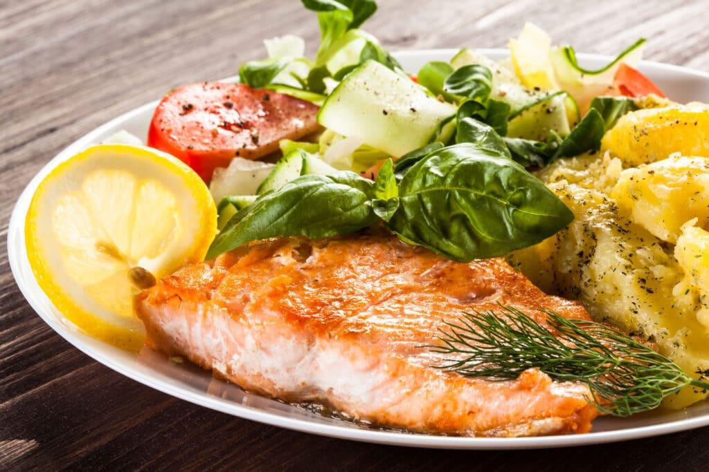 fit obiad ryba