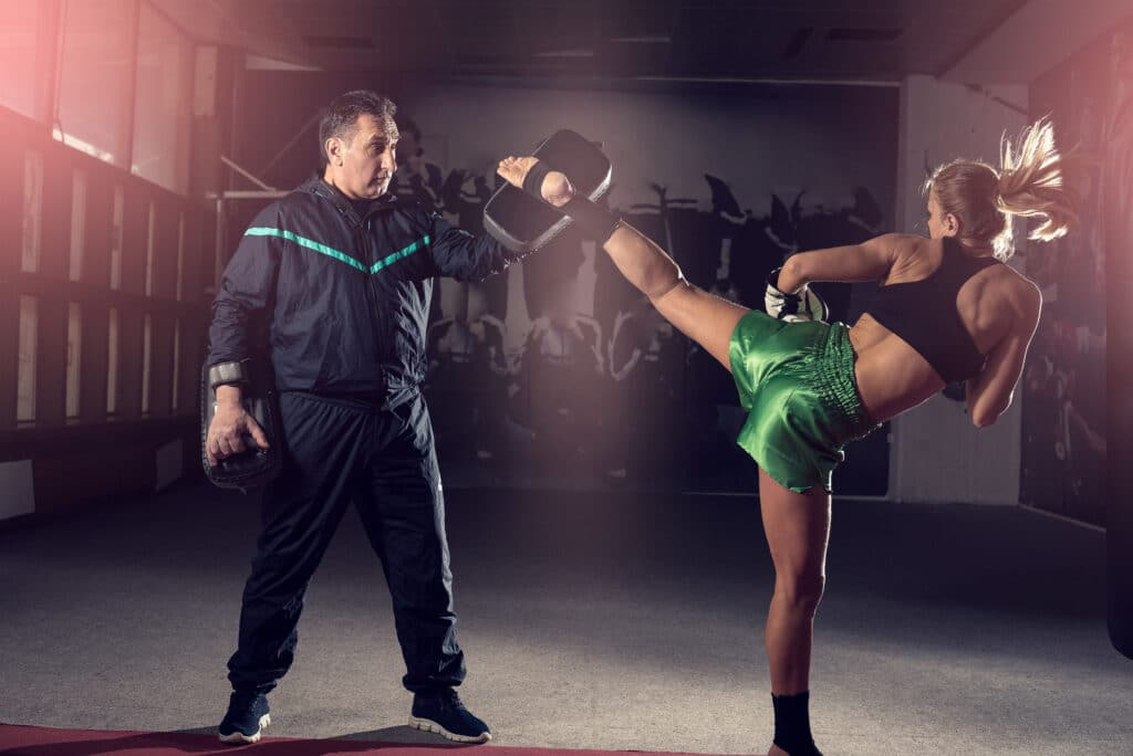 żywienie kick boxing