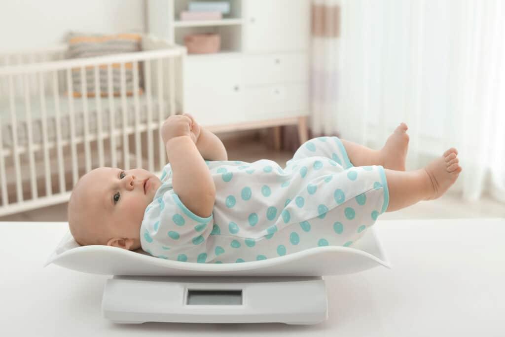 niemowlę waga