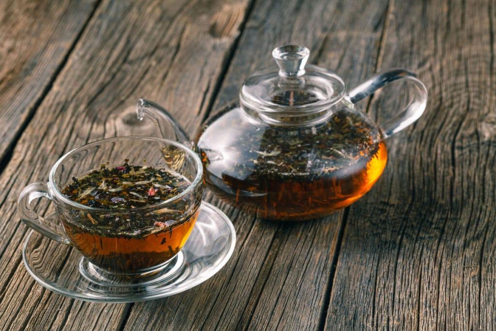 herbata z kopru włoskiego