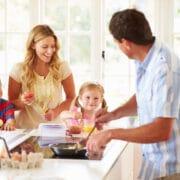 szybkie śniadanie rodzinne