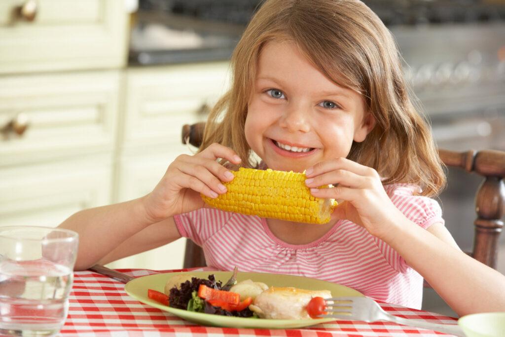 kukurydza dziecko