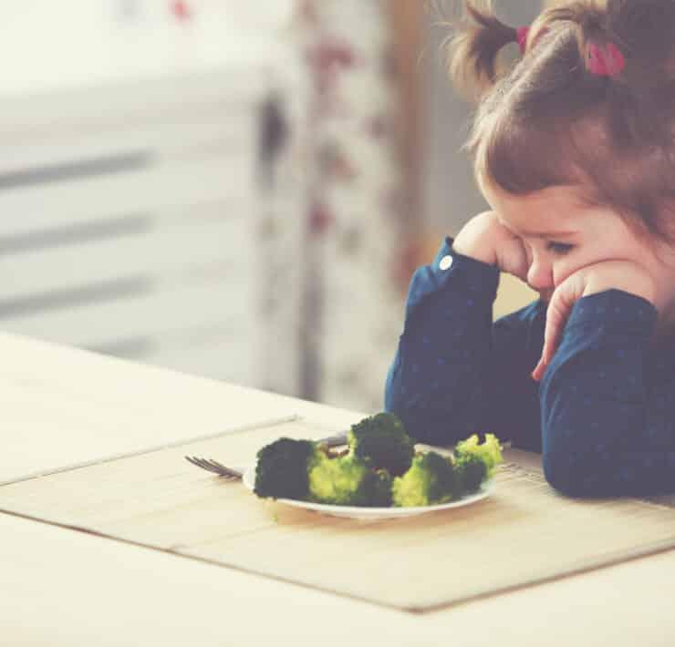 brokuły warzywa dziecko