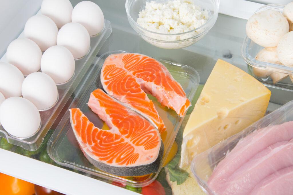 źródła choliny w żywności