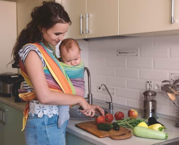 dieta roślinna karmienie piersią